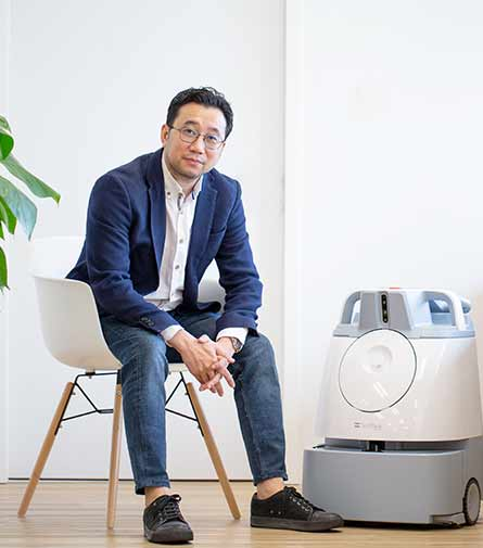 Chin Yau Lee, Asia-Pacific Chief Operating Officer, SoftBank Robotics