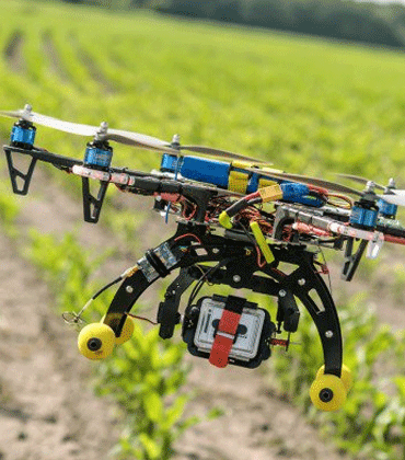 Multispectral Imaging Camera Drones all set to Resolve Farmers' Miseries