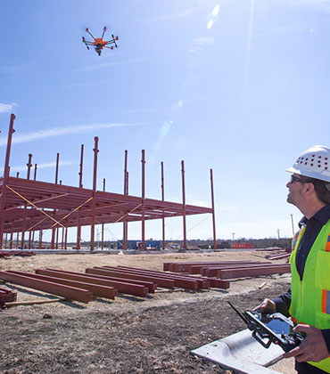 How Is Drone Technology Leveling Up Construction Industries?