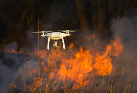 How Drones Can Help with Fire Protection?