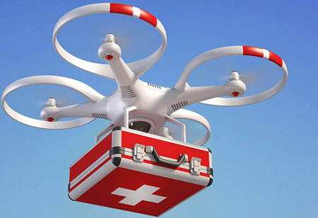 How Drones are Assisting Healthcare Providers