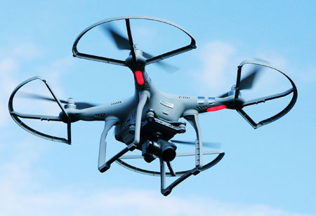 Drones Breaking New Grounds with Enhanced Surveillance Capabilities