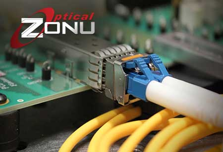 Fiber optic SFP/SFP+ transceivers w/ Built-In Micro-OTDR